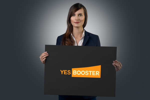 Sample branding #1 for Yesbooster