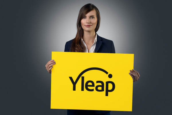 Sample branding #1 for Yleap