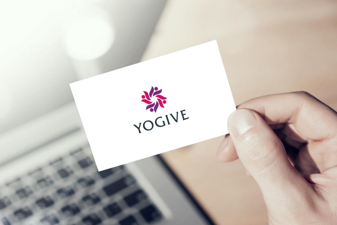 Sample branding #1 for Yogive