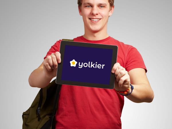 Sample branding #1 for Yolkier