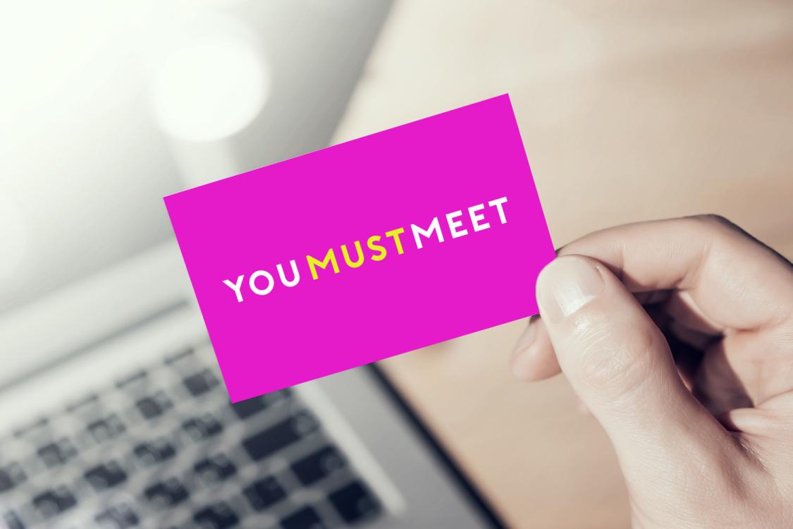 Sample branding #1 for Youmustmeet