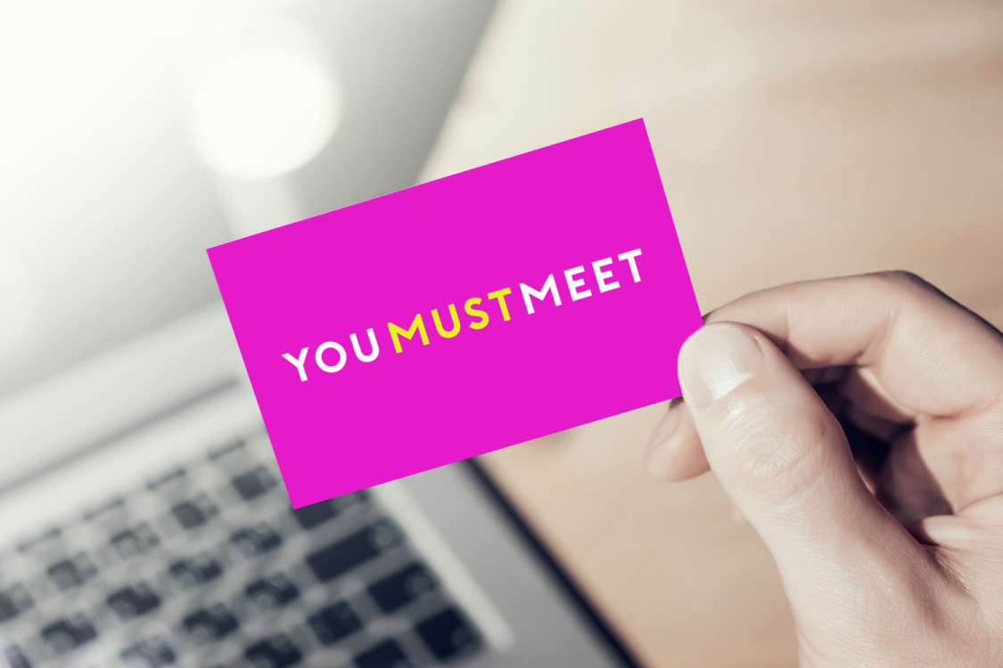 Sample branding #2 for Youmustmeet