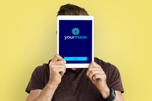 Sample branding #2 for Yourmaze