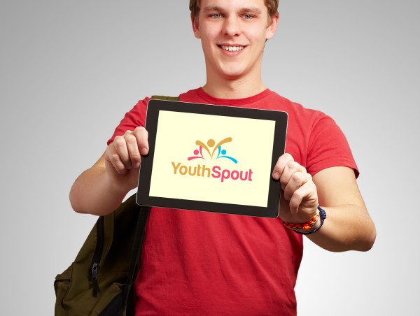Sample branding #1 for Youthspout
