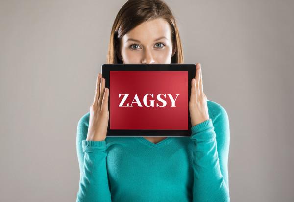 Sample branding #3 for Zagsy