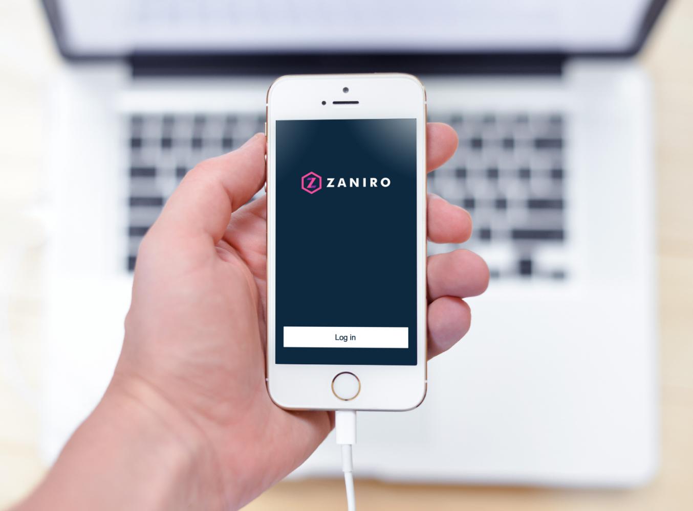 Sample branding #3 for Zaniro