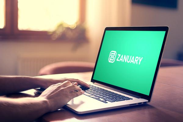 Sample branding #2 for Zanuary