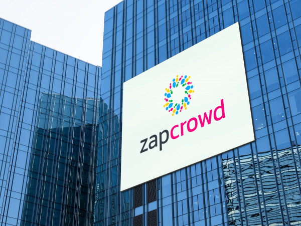 Sample branding #1 for Zapcrowd