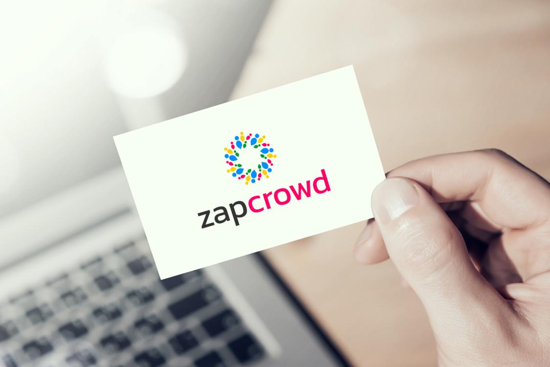 Sample branding #3 for Zapcrowd