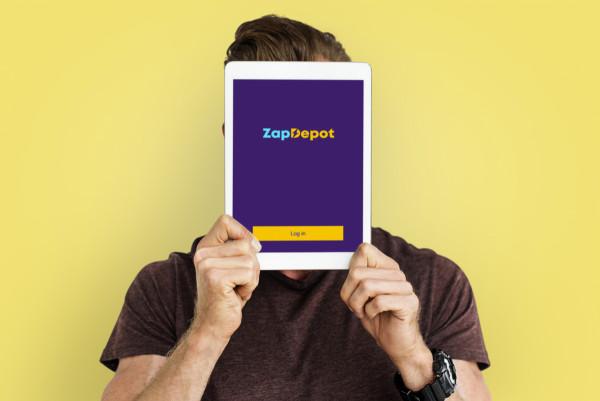 Sample branding #1 for Zapdepot