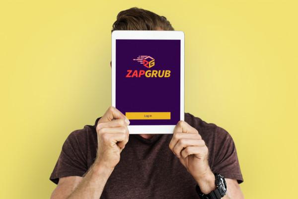 Sample branding #1 for Zapgrub