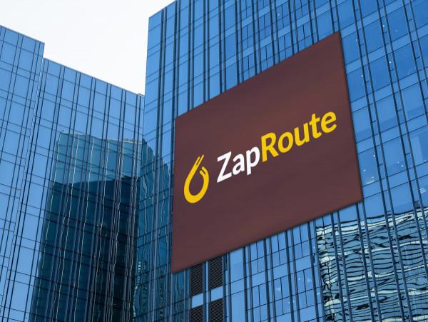 Sample branding #2 for Zaproute
