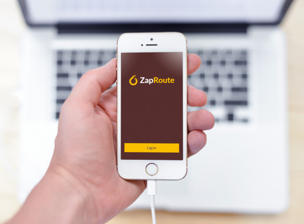 Sample branding #1 for Zaproute