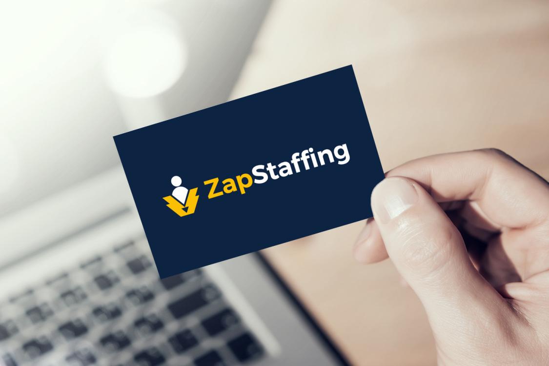 Sample branding #2 for Zapstaffing