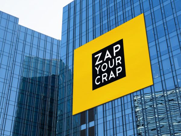 Sample branding #2 for Zapyourcrap