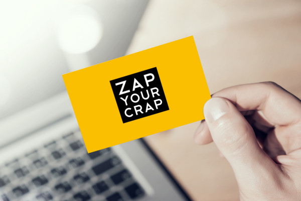 Sample branding #3 for Zapyourcrap