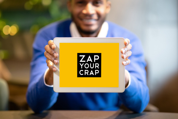 Sample branding #1 for Zapyourcrap