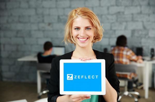 Sample branding #3 for Zeflect