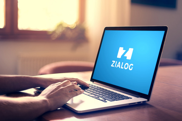 Sample branding #3 for Zialog