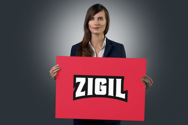 Sample branding #1 for Zigil