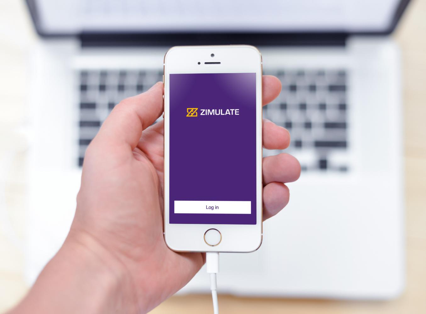 Sample branding #2 for Zimulate
