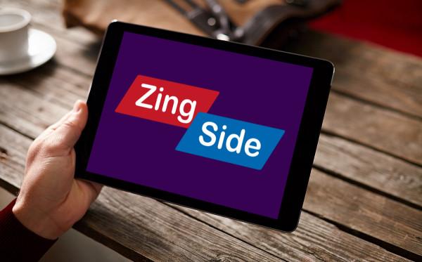 Sample branding #1 for Zingside