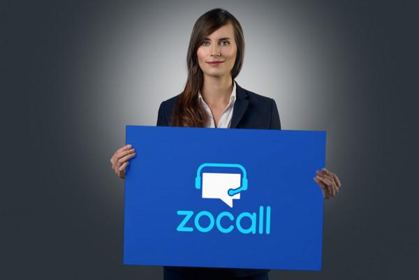 Sample branding #3 for Zocall
