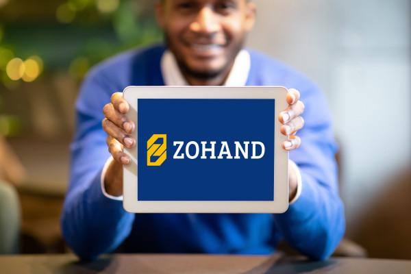 Sample branding #2 for Zohand