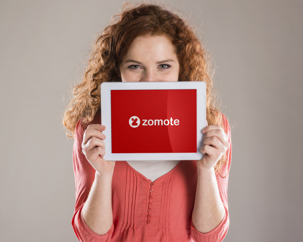 Sample branding #1 for Zomote