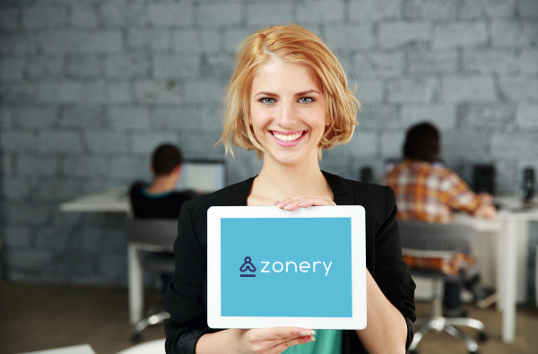Sample branding #1 for Zonery