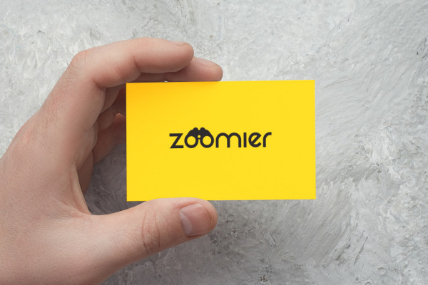 Sample branding #3 for Zoomier