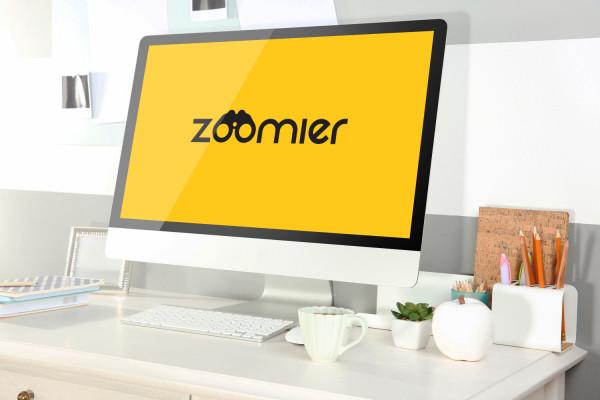 Sample branding #2 for Zoomier