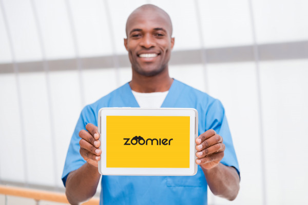 Sample branding #1 for Zoomier