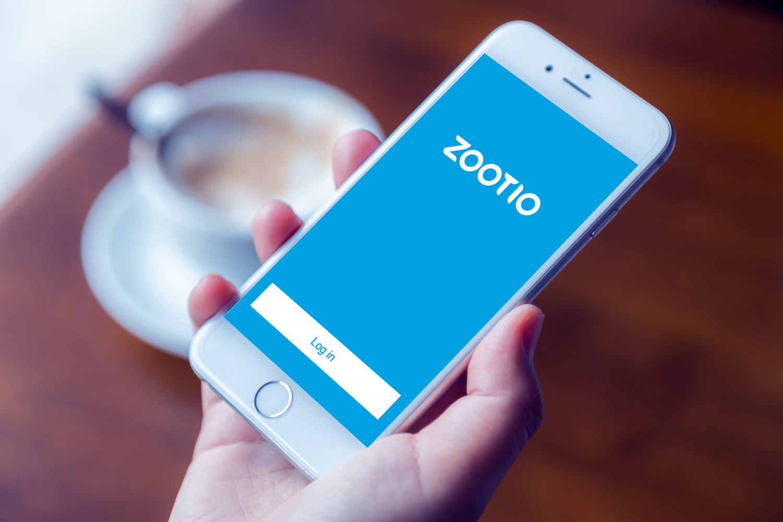 Sample branding #2 for Zootio