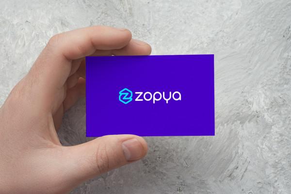 Sample branding #1 for Zopya
