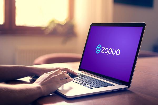 Sample branding #3 for Zopya