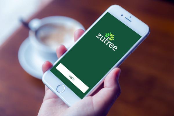 Sample branding #2 for Zutree