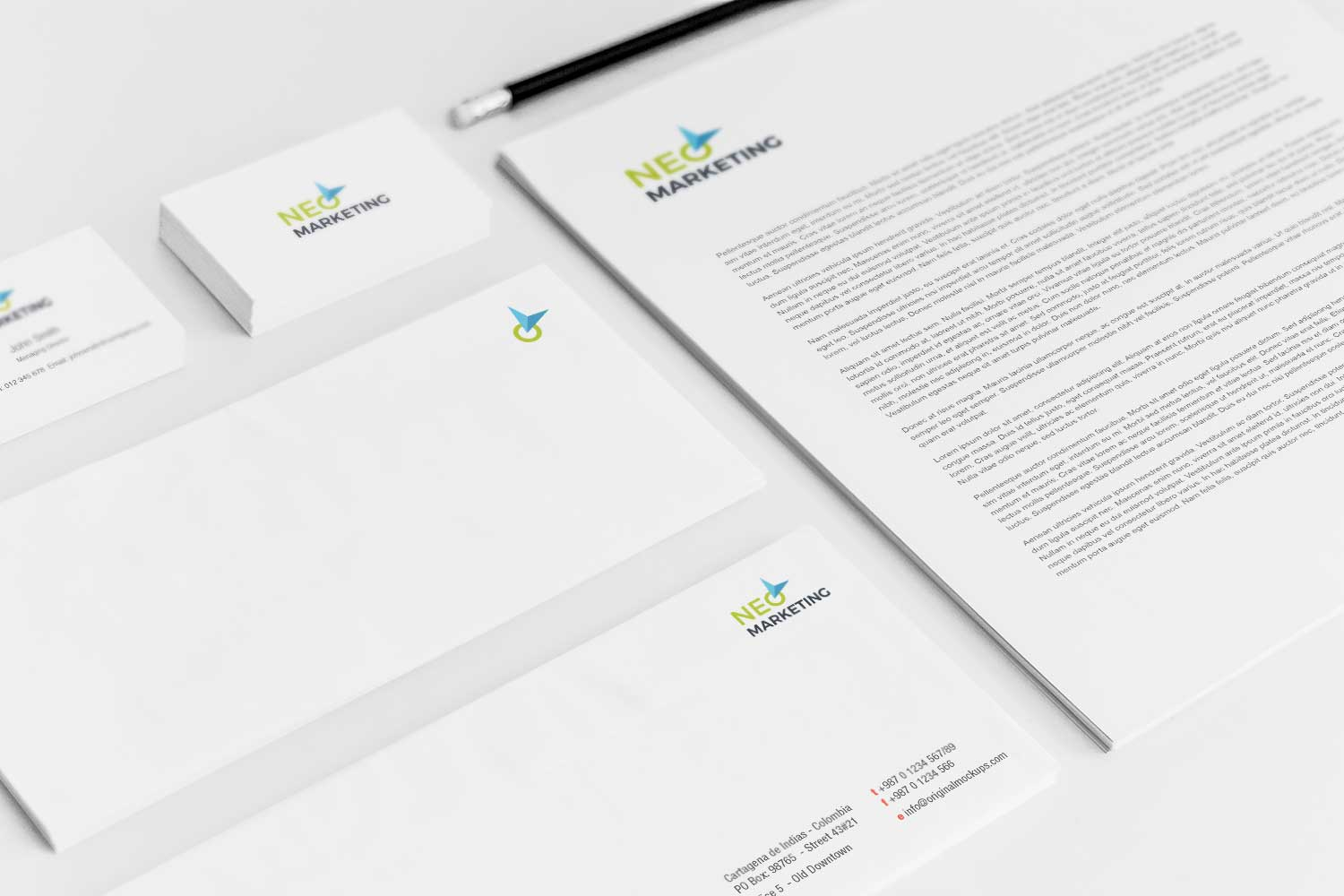 Sample branding #3 for Neomarketing