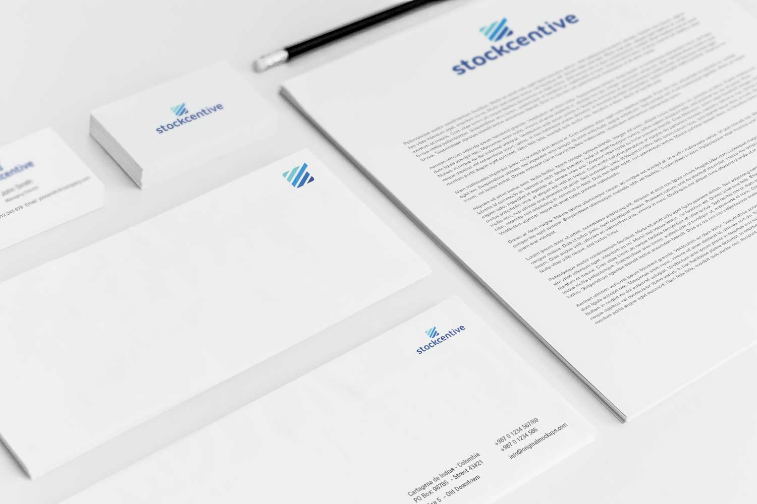 Sample branding #3 for Stockcentive