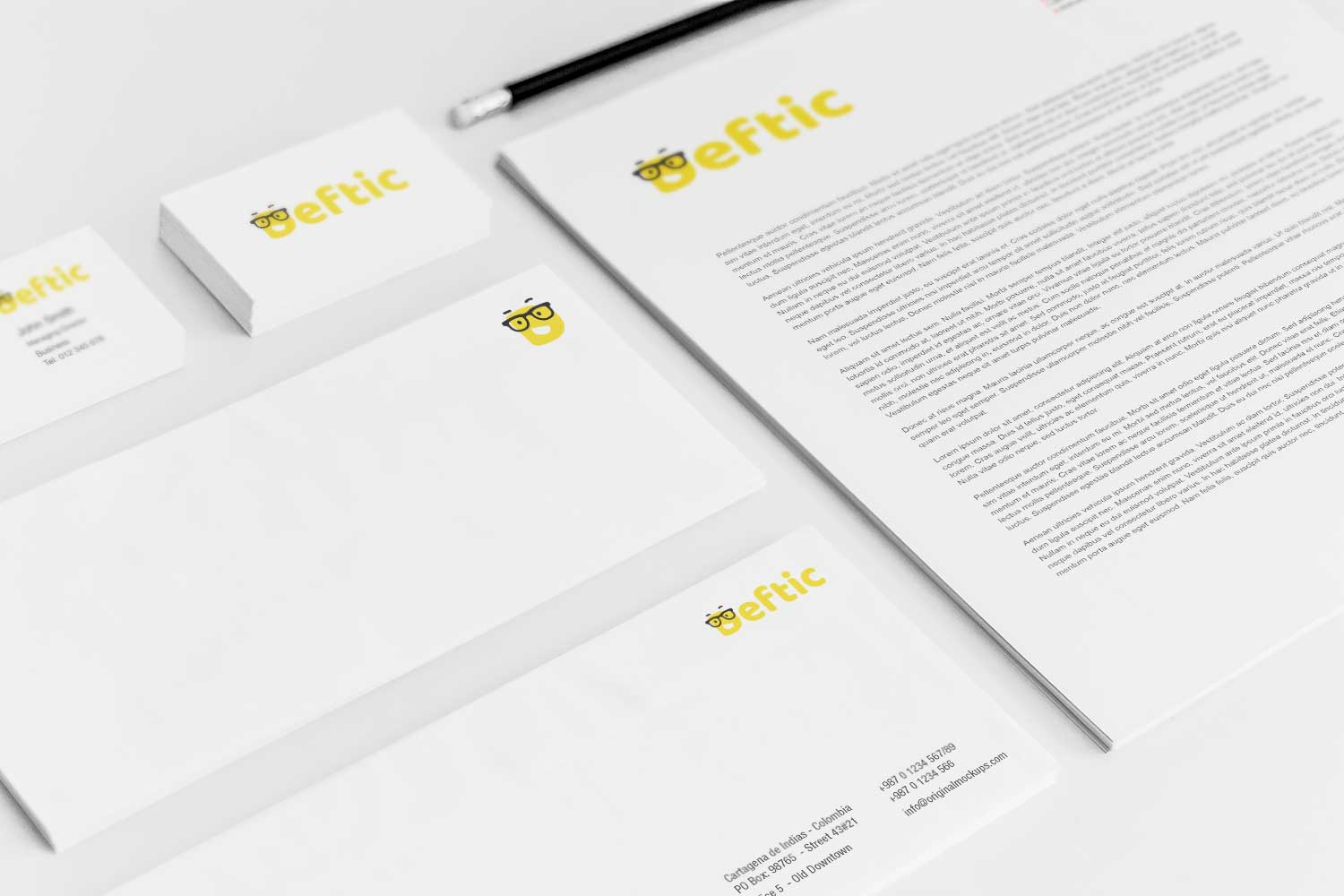 Sample branding #3 for Deftic