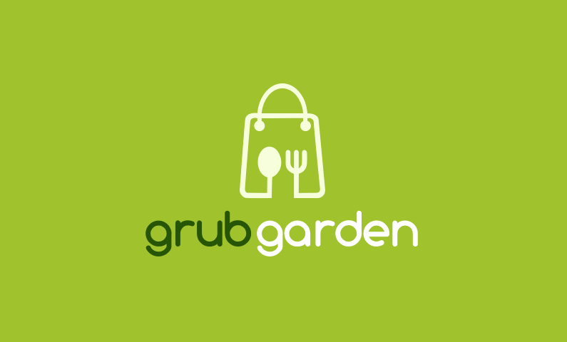 Grubgarden - Food and drink company name for sale
