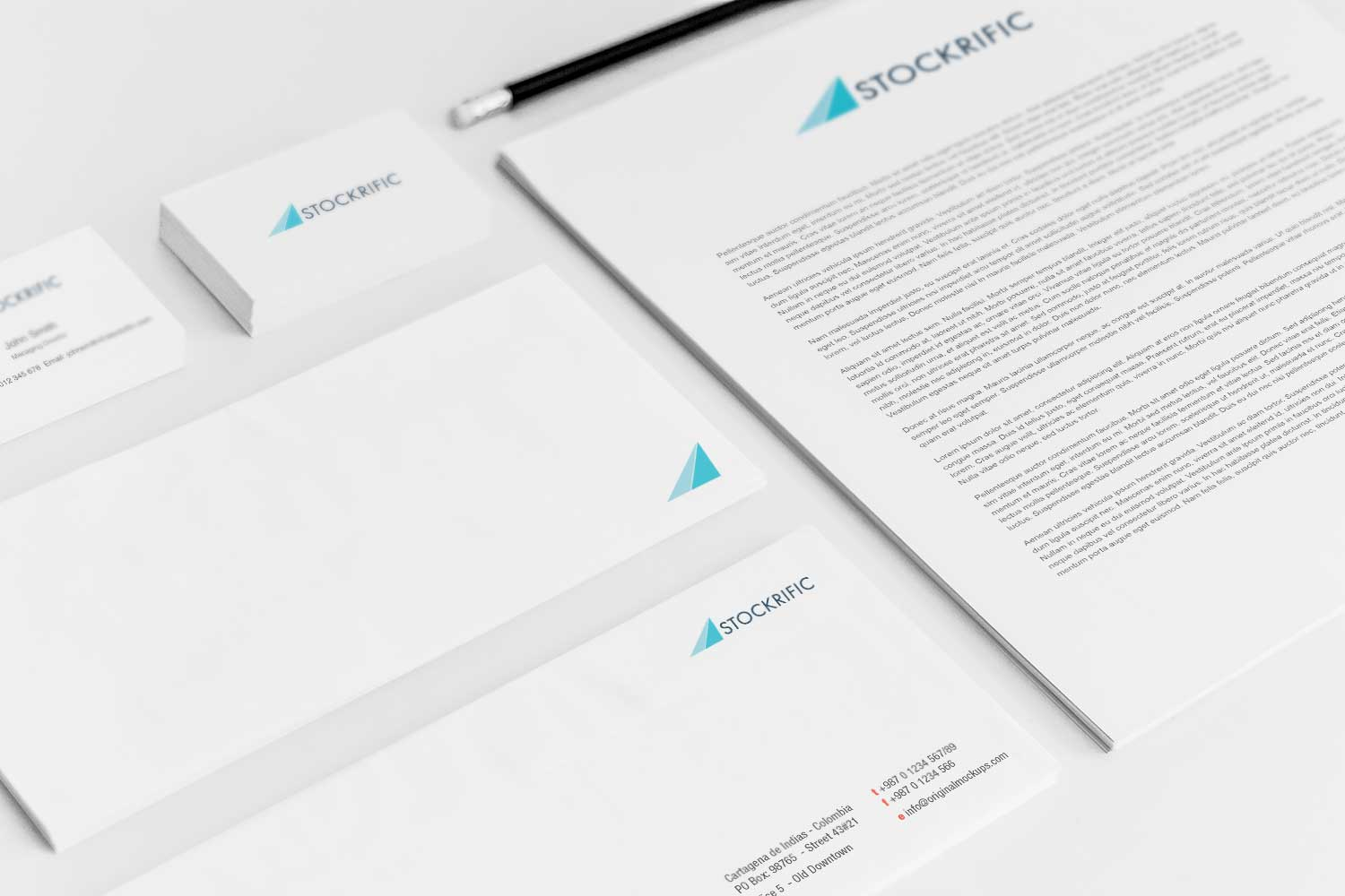 Sample branding #3 for Stockrific