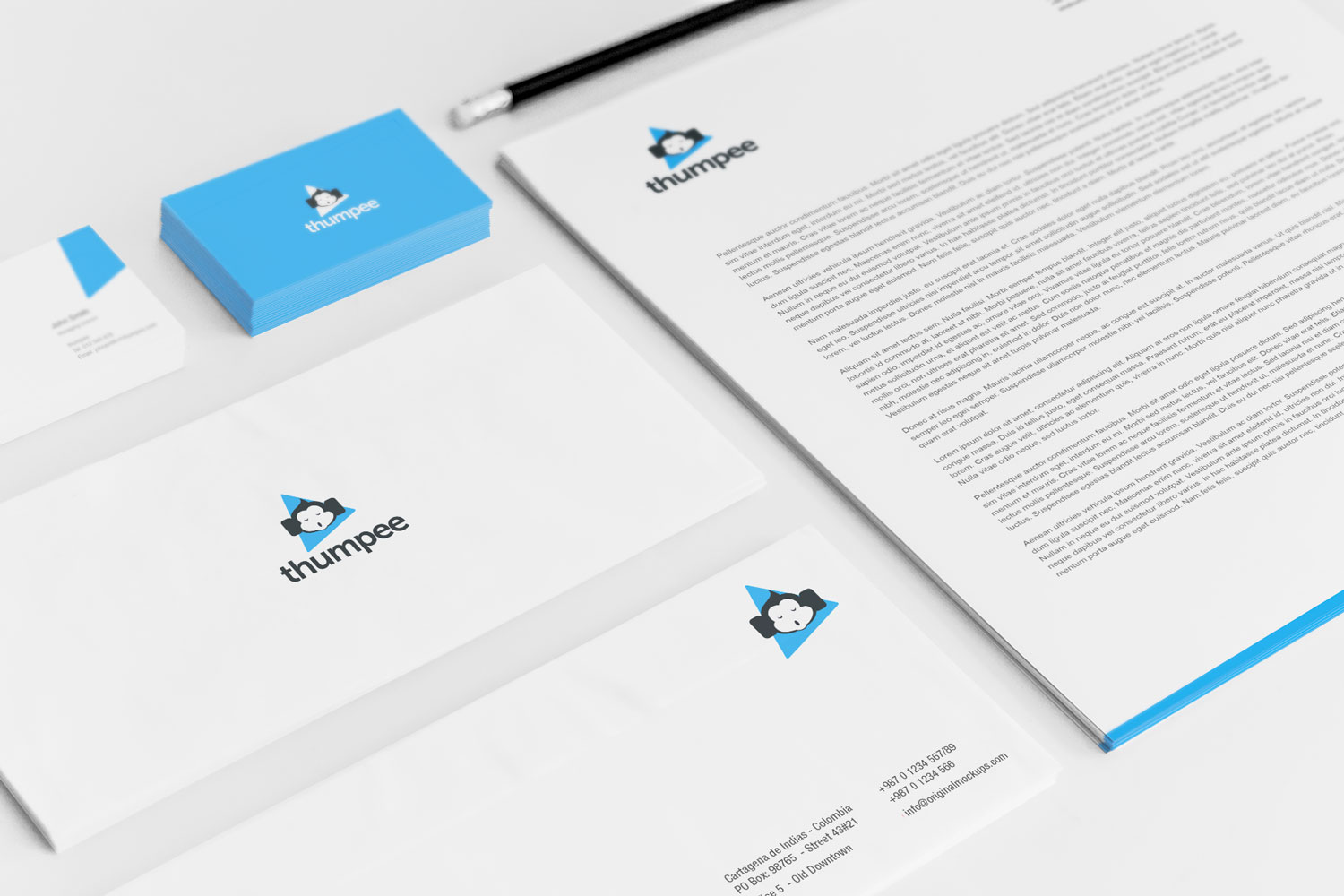 Sample branding #3 for Thumpee