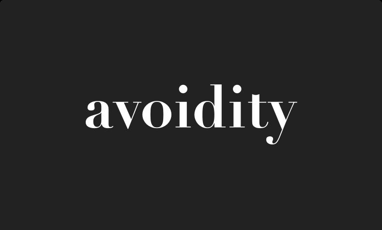 Avoidity