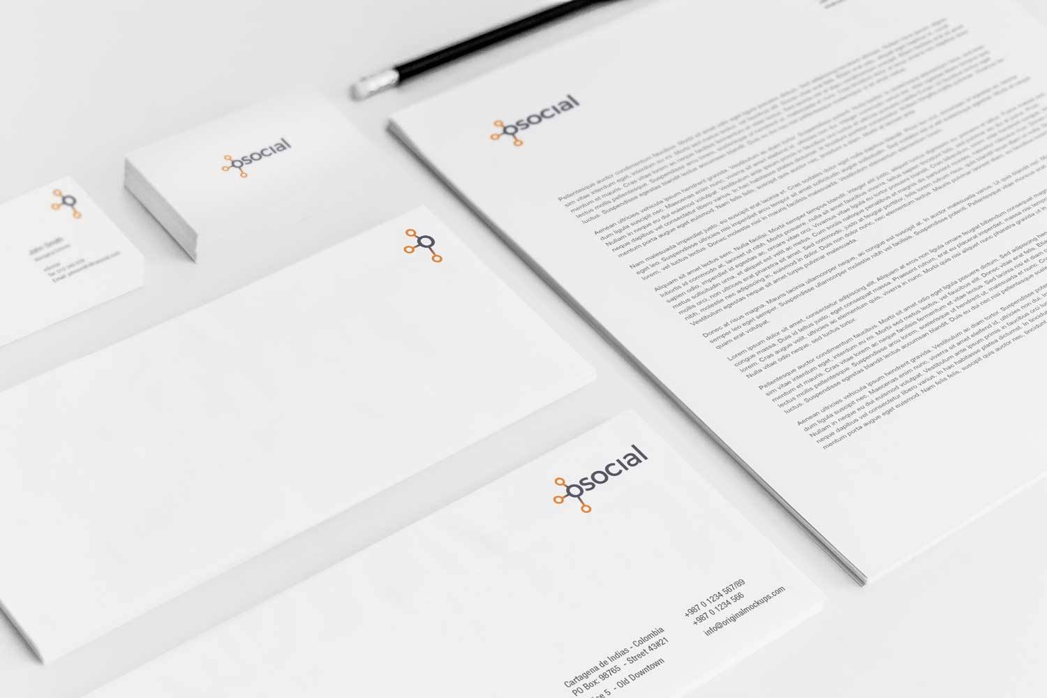 Sample branding #3 for Osocial