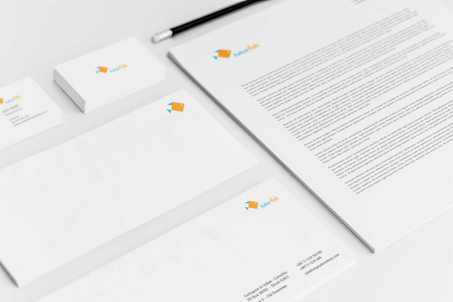 Sample branding #3 for Tutorfish