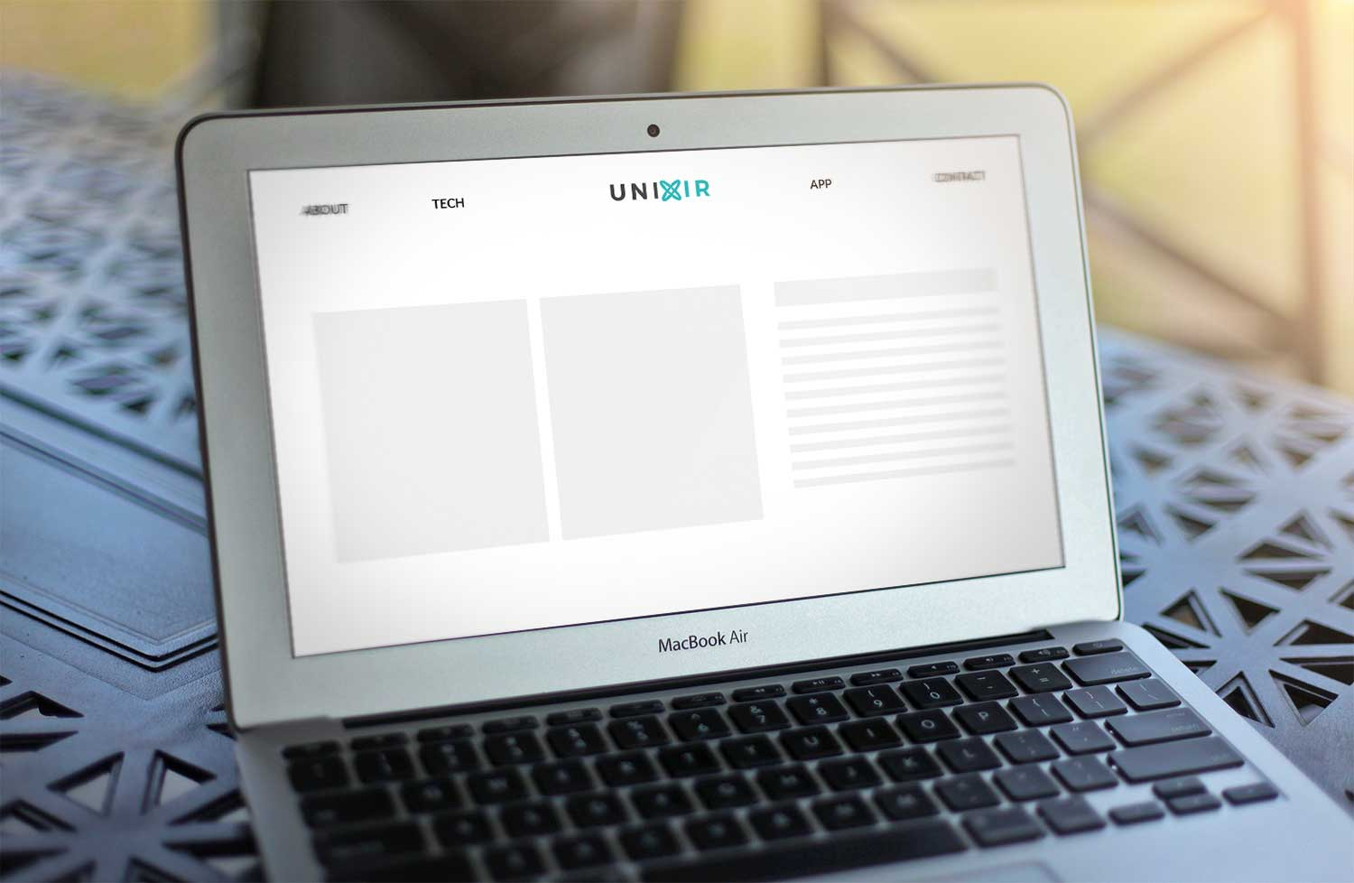 Sample branding #2 for Unixir