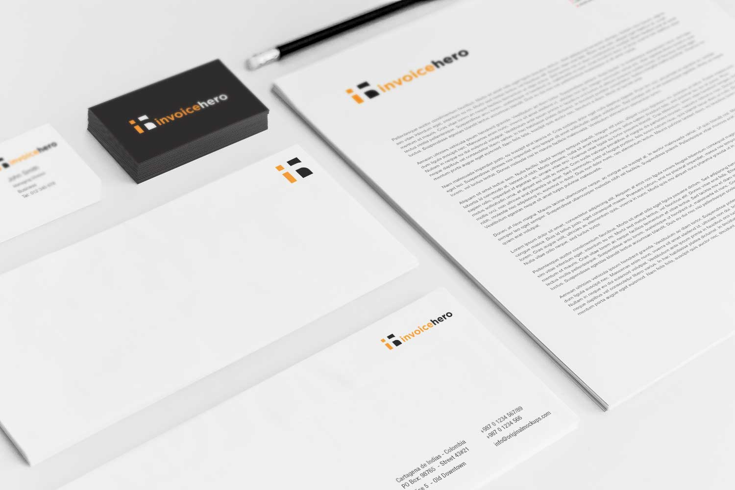 Sample branding #3 for Invoicehero