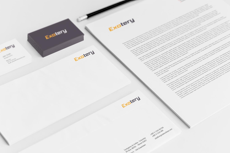 Sample branding #3 for Exotery