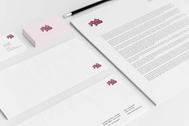 Sample branding #3 for Pinkpact